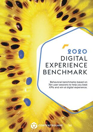 2020 Digital Experience Benchmark (English) COVER