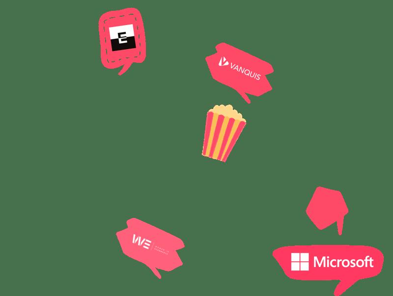 Wireframe logos RED-1