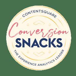 Conversion Snacks: event zur Conversion Optimierung