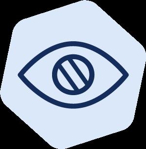 Colourblind icon